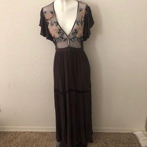 Cleobella Purple Maxi Dress